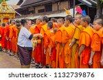 luang prabang  lao   april 15 ... | Shutterstock . vector #1132739876