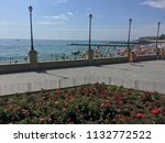 the seafront of the gold coast...   Shutterstock . vector #1132772522