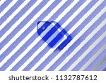 blue tags icon on the gray...