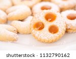 homemade cookies for christmas | Shutterstock . vector #1132790162