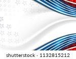 flag of usa background for... | Shutterstock .eps vector #1132815212