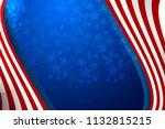 flag of usa background for... | Shutterstock .eps vector #1132815215