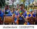 s o paulo  penha  brazil. afro... | Shutterstock . vector #1132819778
