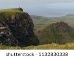 green mountains of quiraing  on ... | Shutterstock . vector #1132830338