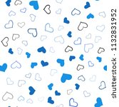 light blue vector seamless... | Shutterstock .eps vector #1132831952