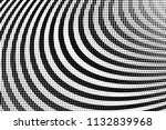 halftone circle background ... | Shutterstock .eps vector #1132839968