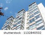 modern giant  apartment... | Shutterstock . vector #1132840532