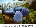 beautiful  charming purple... | Shutterstock . vector #1132845872
