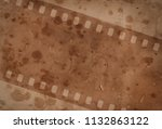 vintage background with aged...   Shutterstock . vector #1132863122
