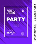 night party banner template for ...   Shutterstock .eps vector #1132867355