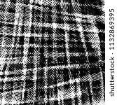 grunge halftone black and white ... | Shutterstock . vector #1132869395