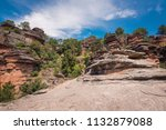 river gallo canyon in... | Shutterstock . vector #1132879088