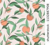 Summer Fruit Peach Banner....