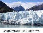 the glacier scenic view in... | Shutterstock . vector #1132894796