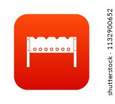 brazier icon digital red for... | Shutterstock . vector #1132900652