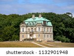 the hermitage  a royal hunting...   Shutterstock . vector #1132901948