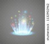 magic portal of fantasy.... | Shutterstock .eps vector #1132902962