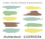 minimalist label brush stroke... | Shutterstock .eps vector #1132903256