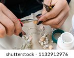 close up of the hand of the...   Shutterstock . vector #1132912976