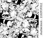 watercolor seamless pattern... | Shutterstock . vector #1132919312