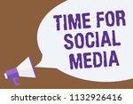 text sign showing time for... | Shutterstock . vector #1132926416