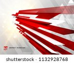 abstract perspective technology ... | Shutterstock .eps vector #1132928768