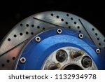 race car's disc brake   high... | Shutterstock . vector #1132934978