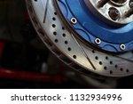 race car's disc brake   high... | Shutterstock . vector #1132934996