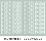 decorative geometric line... | Shutterstock .eps vector #1132942328