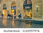 florence  italy  january   2018 ... | Shutterstock . vector #1132957976