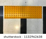 indoor tactile paving footpath... | Shutterstock . vector #1132962638
