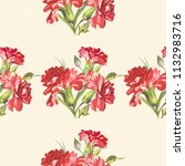 seamless floral pattern with... | Shutterstock .eps vector #1132983716