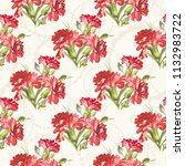seamless floral pattern with... | Shutterstock .eps vector #1132983722