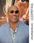 new york   jun 10  actor dwayne ... | Shutterstock . vector #1132987316
