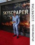 new york   jun 10  actor dwayne ... | Shutterstock . vector #1132987346