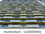 exterior of abstract expensive... | Shutterstock . vector #1133003402