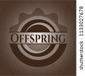 offspring wood emblem   Shutterstock .eps vector #1133027678