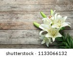flat lay composition with... | Shutterstock . vector #1133066132