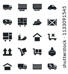 set of vector isolated black... | Shutterstock .eps vector #1133091545