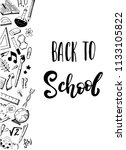 """""""back to school"""" hand drawn... 