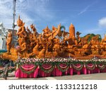 july 27 2017  ubon ratchathani  ... | Shutterstock . vector #1133121218