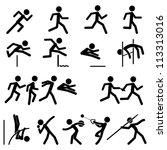 sport pictogram icon set 02...