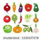 cartoon set of different... | Shutterstock .eps vector #1133157278