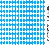 oktoberfest background. blue... | Shutterstock .eps vector #1133163878