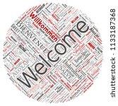 vector conceptual abstract... | Shutterstock .eps vector #1133187368