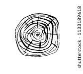 tree trunk ring cross section.... | Shutterstock .eps vector #1133189618