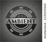 ambient dark emblem | Shutterstock .eps vector #1133194265