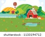 illustration of  background... | Shutterstock .eps vector #1133194712