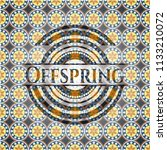 offspring arabesque style...   Shutterstock .eps vector #1133210072