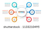 business infographic template... | Shutterstock .eps vector #1133210495